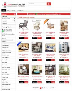 Jasa Pembuatan Website AsiaFurniture Jepara