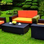 Jual Kursi Rotan Sintetis Alami & Sofa Furniture Minimalis Terbaru