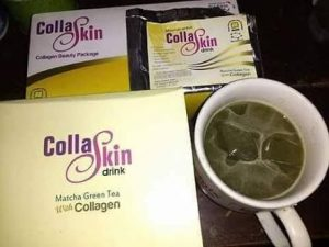 Collaskin Drink Matcha Nasa, Harga,Isi, Aturan Minum, Testimoni dan Manfaatnya untuk Tubuh