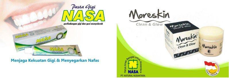 Distributor Pasta GIGI, Moreskin Clean and Glow Cream Nasa